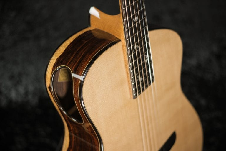 Fan Fret Steel String Guitar (Front/Side) - Tom Bills