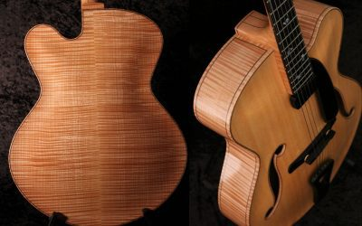 Handmade 17 Inch Archtop Guitar
