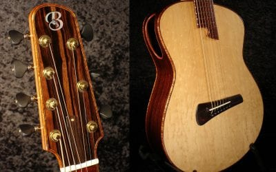 Seven String Modern Acoustic Guitar